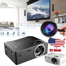 UC18 Mini HD 1080P LED WIFI Projector Home Cinema PC VGA AV USB SD HDMI US Stock