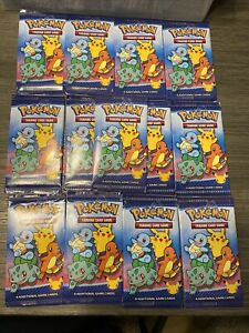 13x packs Mcdonalds Pokemon 25th Anniversary Promo cards Happy Meal Sealed 2021