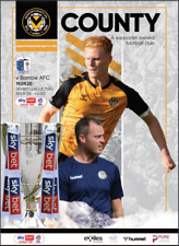 2020/21    NEWPORT COUNTY v BARROW   1st Away back in League for Barrow