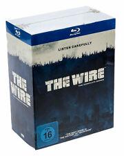 The Wire blueray-la temporada completa-komplettbox alemán en OVP nuevo