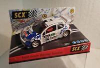 qq 60240 SCX PEUGEOT 206 WRC R TOUR DE CORSE #14 F. DELECOUR export version 6024