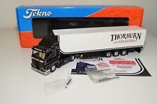 A5 85 1:50 TEKNO SCANIA 143M THORBURN TRUCK WITH TRAILER MIB 187/250 RARE!!!