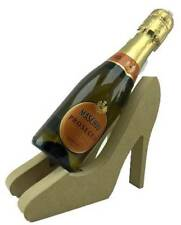 Freestanding MDF Shoes Mini Wine, Prosecco Holder Gift Blank craft Shape