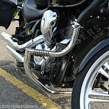 Kawasaki VN 900 Vulcan Classic Custom Quality Engine Guard with built in Pegs