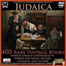Judaica Occult Books Vintage Jewish Hebrew Judaism Zionism Semitic Kabbalah Jew