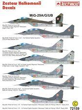 MIG 29 A / G / UB FULCRUM A / B (polacco & israeliano MKGS) 1/72 Techmod
