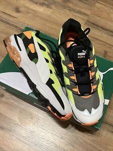 Puma Cell Alien OG Yellow Alert Sneakers 369801-07 mens size 11