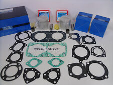 Kawasaki 750 Jet-Ski Top end Pistons Rebuild Kit sx ss sxi Instock 20mm 80mm std