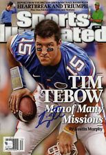"""Florida Gators """"Missions"""" Sports Illustrated Cover Auto Replica Poster Tim Tebow"""