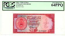 Libya ... P-28 ... 1/4 Pound ... AH1382(1963) ... Ch*UNC* ... PCGS 64 PPQ.