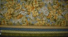 5 YARDS  Quilt, SEW,  Fabric Set -  RJR Spring Promise in Yellow Colorway