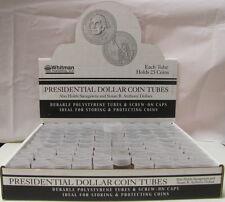 10 COIN TUBES - SMALL DOLLAR - HARRIS/WHITMAN BRAND (SBA/SAC/PRESIDENTIAL)