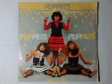 """PUPPETS Puppets / Old photographs 7"""" RARISSIMO ITALO DISCO"""