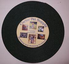Carter Pet Supply 1 Inch Dark Green  Heavy Nylon Webbing, 10 Yards USA MADE