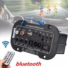 12V Car Radio Audio Stereo FM Receiver MP3/USB/SD Player With Remote Control UK