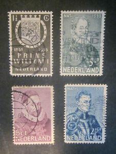 1933 Netherlands complete set used