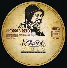 "NORRIS REID-i wanna love jah     roots vibes 12""     (hear)      roots reggae"