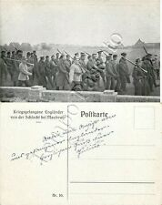Prima guerra mondiale - Prigionieri inglesi - 1914