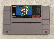Super Mario World (Nintendo SNES, 1992) Tested - Cart Only