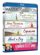 Bridget Jones Diary, Anna Karenina, Pride and Predudice, About A Boy, Atonement