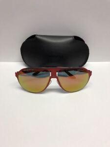 Carrera Champion Aviator Sunglasses Red 9EBUW - Made in Italy Authentic w/Case