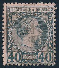 Monaco Nr. 7 gestempelt, 40 C. Fürst Charles III. (66894)