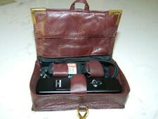 Minox LX BLACK 8x11mm Subminiature Camera w/case/film/flash attch./strap VTG