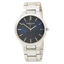 Kenneth Cole Men's Watch Dark Blue Dial Stainless Steel Bracelet 10031361