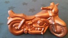 Vintage Harley-Davidson Ceramic China Model Shovelhead Lowrider Painted Copper