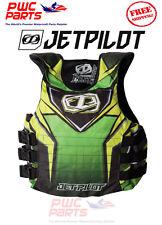 JETPILOT RYDER Side Entry USCG Apprved Life Vest Jacket Nylon JP15213 GREEN L/XL