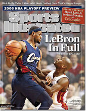 April 24, 2006 Lebron James Cleveland Cavaliers Sports Illustrated NO LABEL