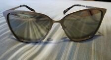 NWT G by GUESS SILVER NICKEL METAL GREY MIRRORED  CAT EYE SUNGLASSES, GG112910C