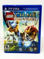 LEGO Chima: Laval's Journey - PS Vita - Brand New | Factory Sealed