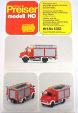 """Preiser Bausatz  H0 31252 Rüstwagen RW1 MB LAF 911 B/32 """"6202"""