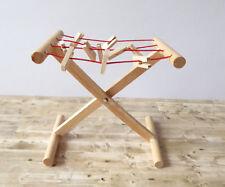 Caco Wäschetrockner Wäscheständer Wäschespinne Holz Puppenstube Miniatur 1:12