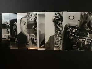 LOT: 32 1990s RE-STRIKE PHOTOGRAPHS of THE THREE STOOGES~