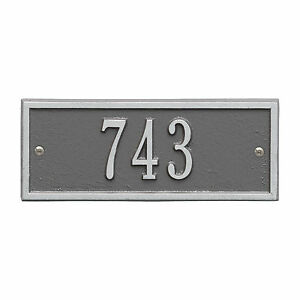 Hartford Petite Personalized Address Plaque
