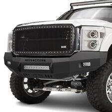 Iron Cross - Heavy Duty Low Profile Series Full Width Black Front HD Bumper