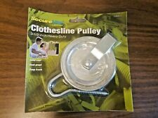 """Metal 3.5"""" Heavy Duty Durable Laundry Clothesline Pulley With Hook Screw"""