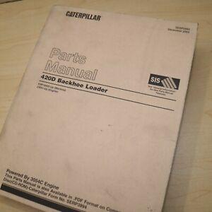 CAT Caterpillar 420D Backhoe Loader Parts Manual Book catalog list FDP series
