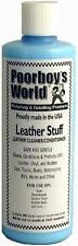 Poorboys World Leather Stuff Car Seat Upholstery Cleaner & Conditioner 16oz