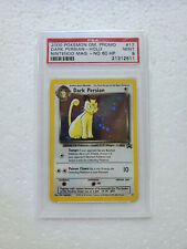 Pokemon Dark Persian NO HP ERROR PSA 9