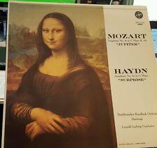 "Mozart  ""Jupiter"" and Haydn ""Surprise"" STPL 512.510 Stereo RVG Van Gelder"