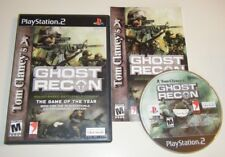 Tom Clancy's Ghost Recon COMPLETE GAME for your Playstation 2 PS2 system GC