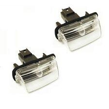2 Lighting Plate Peugeot 5008 I 06/2009 A 09/2016 Origin + Bulb