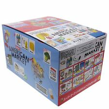Re-Ment Japan Peanuts Snoopy's American Market Dollhouse Miniatures Full 8 Sets