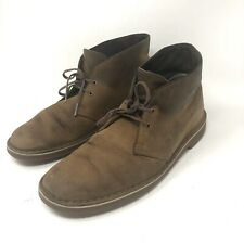 Clarks Originals Desert Boot Brown Weathered Leather Men's Size 8 Ankle Chukka