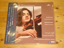 EDITH PEINEMANN Beethoven Mendelssohn Violin Concertos WEITBLICK JAPAN 2x180g LP