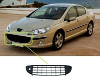 Peugeot 407 2004-2008 Front Bumper Grille Lower Centre Insurance Approved New