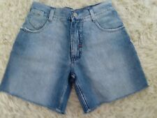 ANGER MGMT ladies Size 82 Denin Shorts